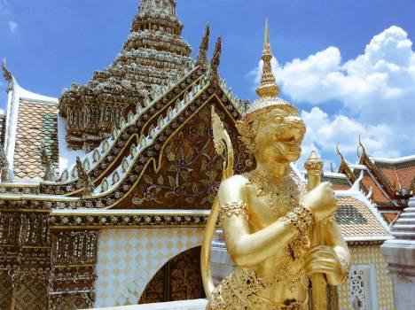 Temple Stupa Building #156864