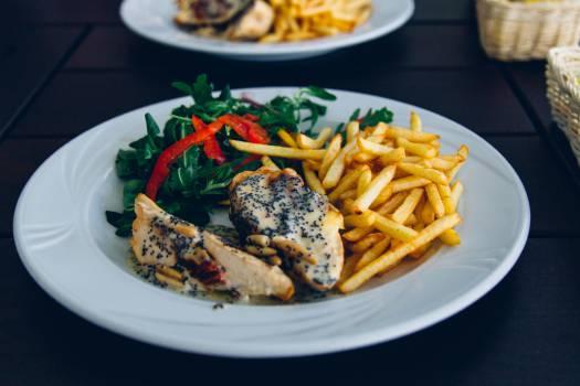 Plate Meal Dinner #15696