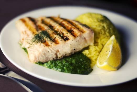 Plate Dinner Meal #15727