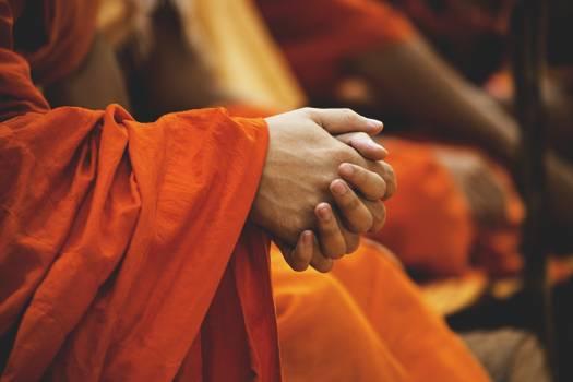 Buddhist Religious Monk Free Photo