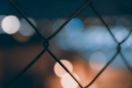 Chainlink fence Fence Hourglass #15873