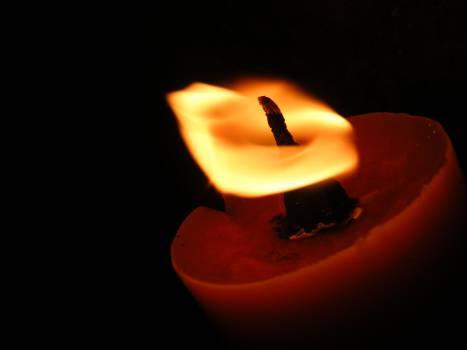 Cord Candle Source of illumination #15919