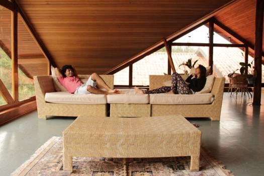 Studio couch Sofa Convertible Free Photo