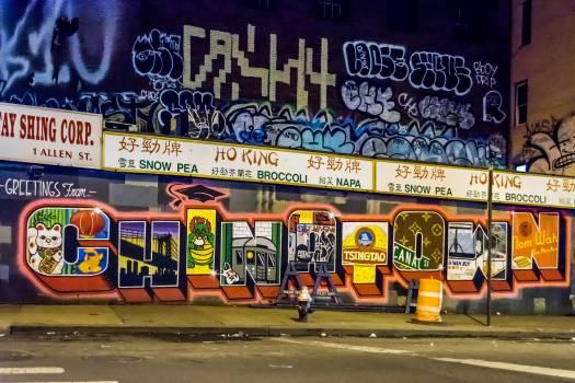Graffito Word Tag Free Photo