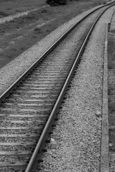 Track Tie Train Free Photo