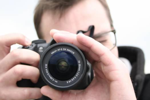 Camera Lens Photographer #16188