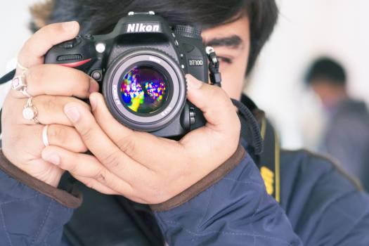 Photographer Camera Lens #16252