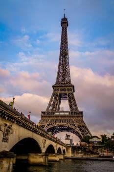 Paris Tower Eiffel Free Photo