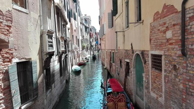 Gondola Boat Vessel Free Photo