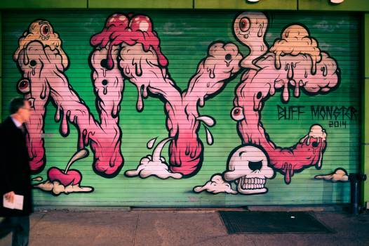 Graffito Decoration Artwork Free Photo