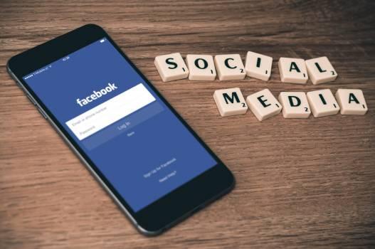 facebook social media smartphone  #16492