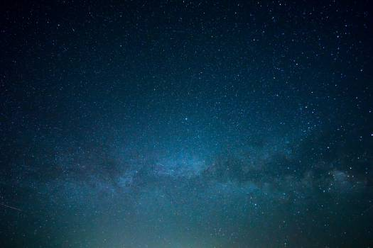 night sky stars  #16503