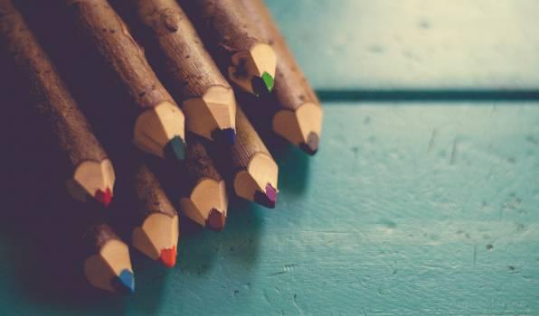 pencils wood art  #16520