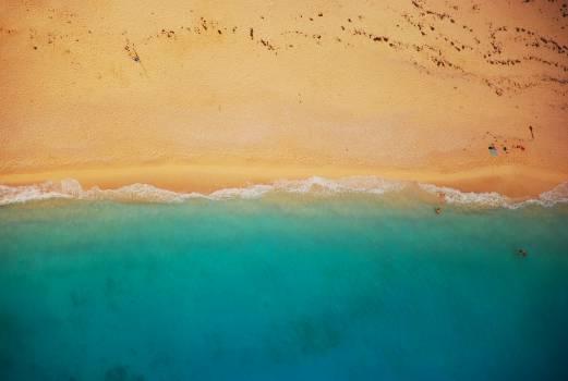 beach sand ocean  #16559