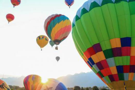 hot air balloons sky  #16595