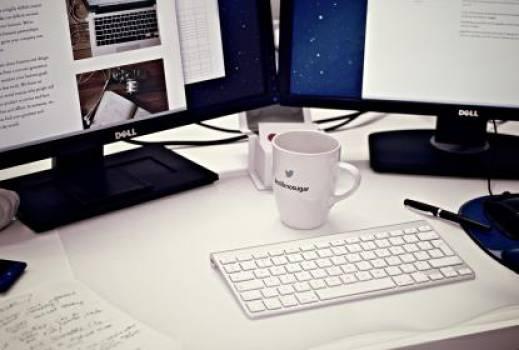 desktop computer keyboard  Free Photo