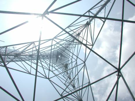 Cable Electricity Tower Free Photo