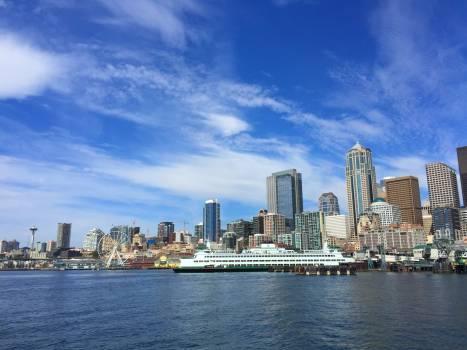 Waterfront City Skyline #166357