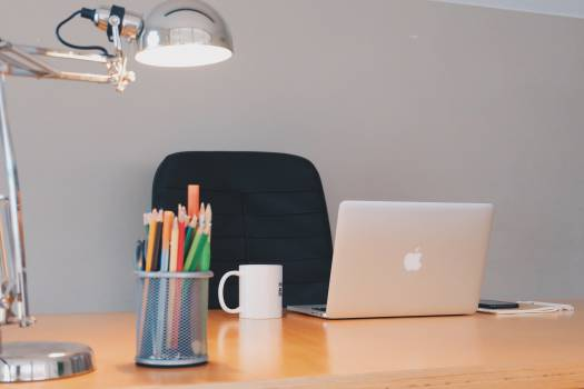 office desk business  Free Photo
