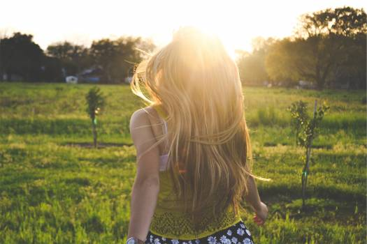 young girl woman  Free Photo