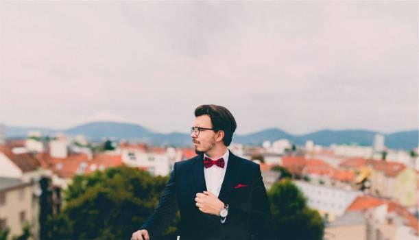 suit tuxedo bowtie  #16658
