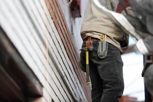 construction worker builder  Free Photo