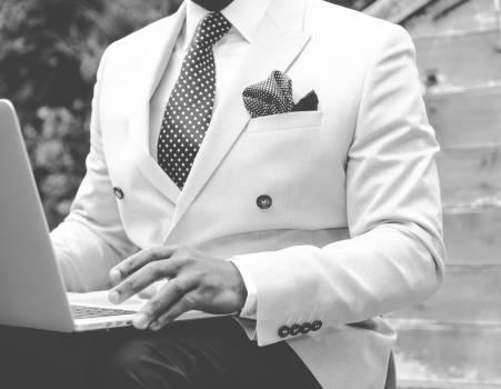 suit blazer tie  #16686