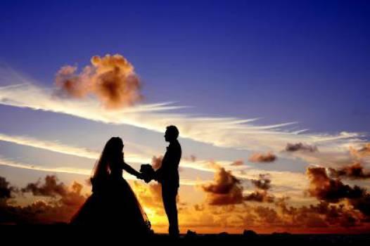 Maldives sunset wedding  #16722
