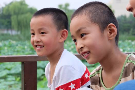 Child Male Together Free Photo
