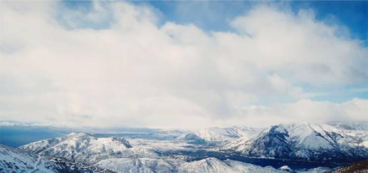 landscape mountains snow  #16727
