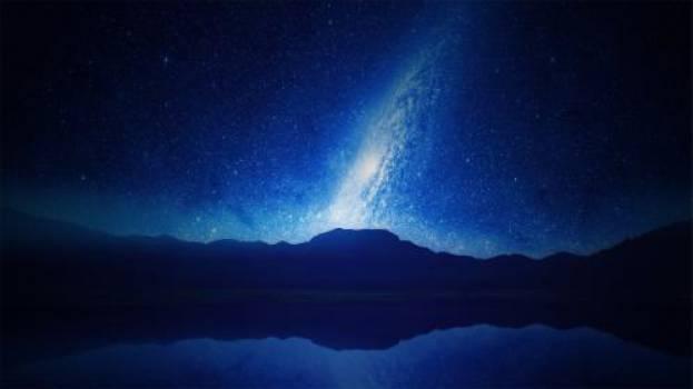 blue night stars  #16771