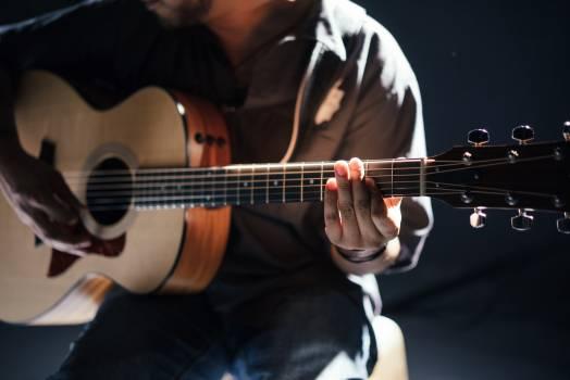 Guitar Acoustic guitar Stringed instrument #167759