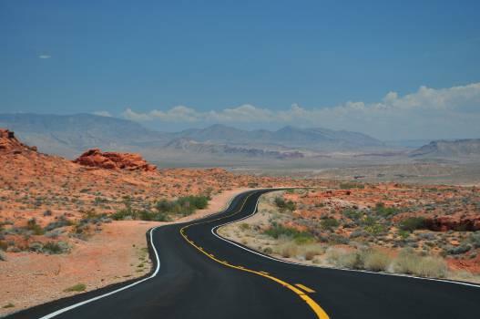 rural road desert  #16787