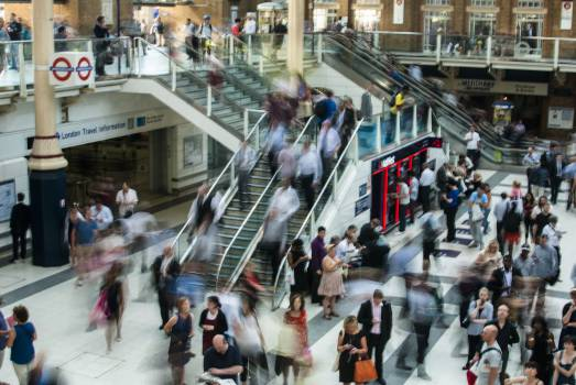 london underground train station  #16799