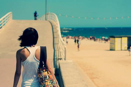 Beach Sand Sea Free Photo