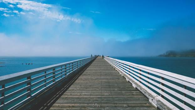 pier dock blue  #16826