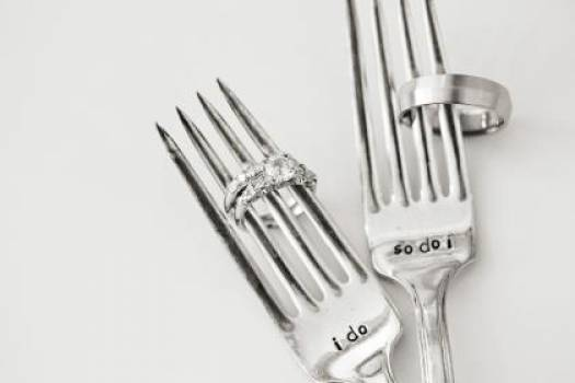 wedding rings marriage forks  #16853