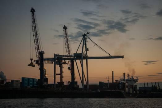Vessel Ship Crane Free Photo