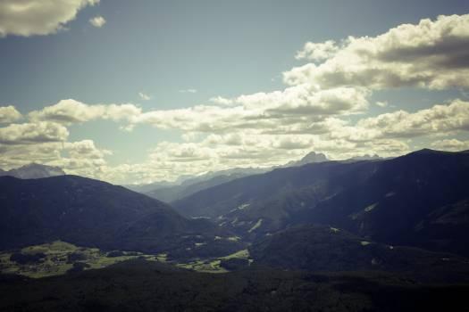 Mountain Range Landscape #168912