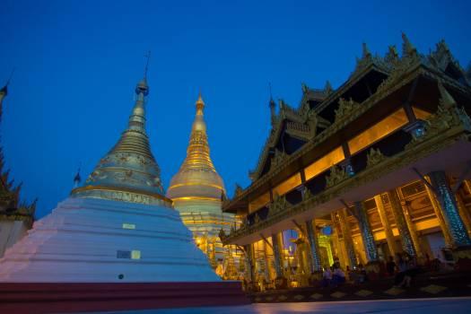 Stupa Shrine Building #168918