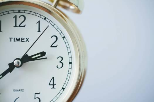 timex quartz clock  #16953