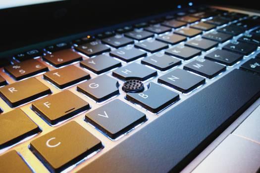 laptop computer keyboard  #16961