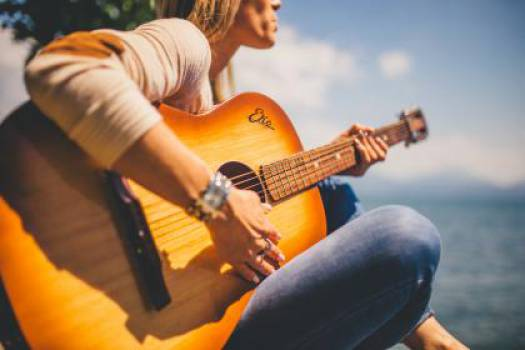 acoustic guitar musician  #16975