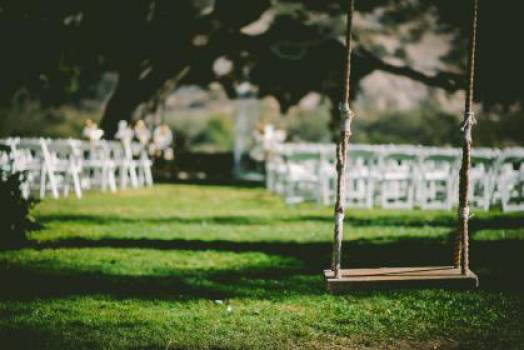 wedding reception swing grass  #16991