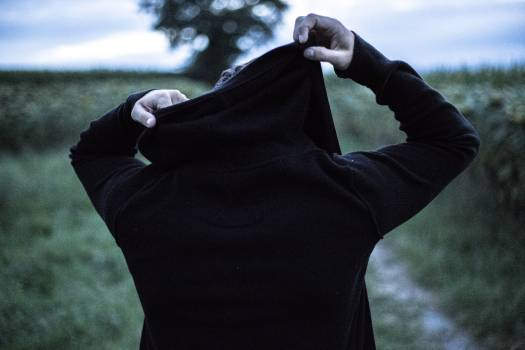 Garment Covering Man Free Photo