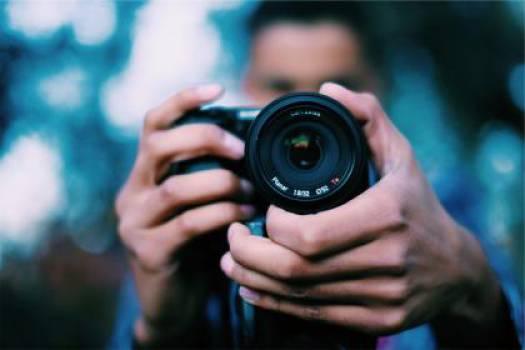 photographer camera lens  #17008