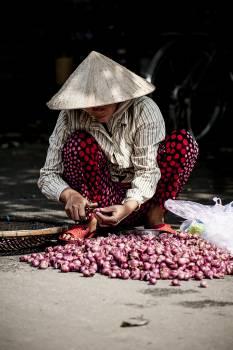 Seller Food Fruit Free Photo