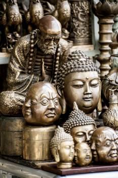 Religion Temple Statue Free Photo