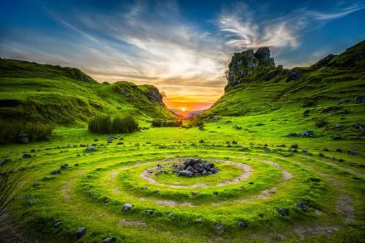 Maze Highland Landscape #170472