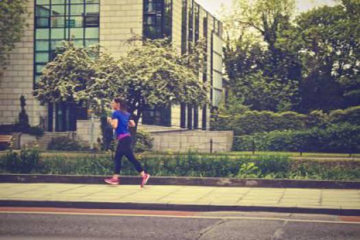running runner fitness  Free Photo